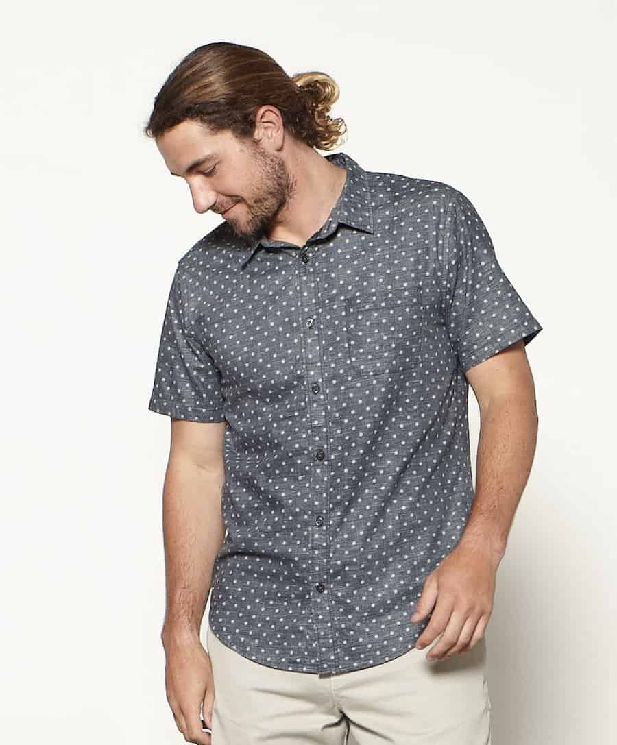 Outerknown Short Sleeve Button Up Shirt