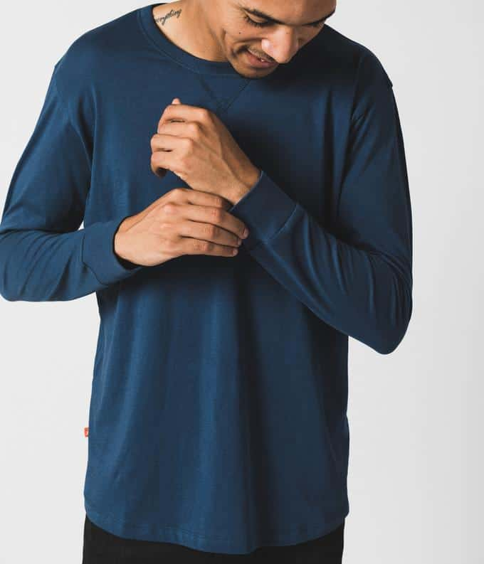 Known Supply Navy Long Sleeve