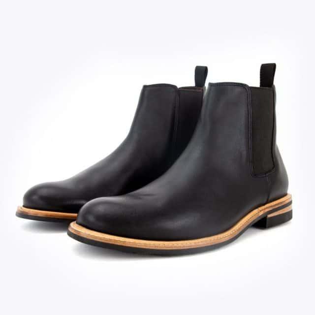 Nisolo Javier Chelsea Boots in Black