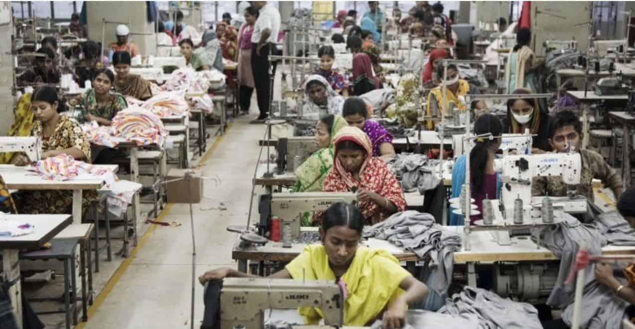 women making clothing