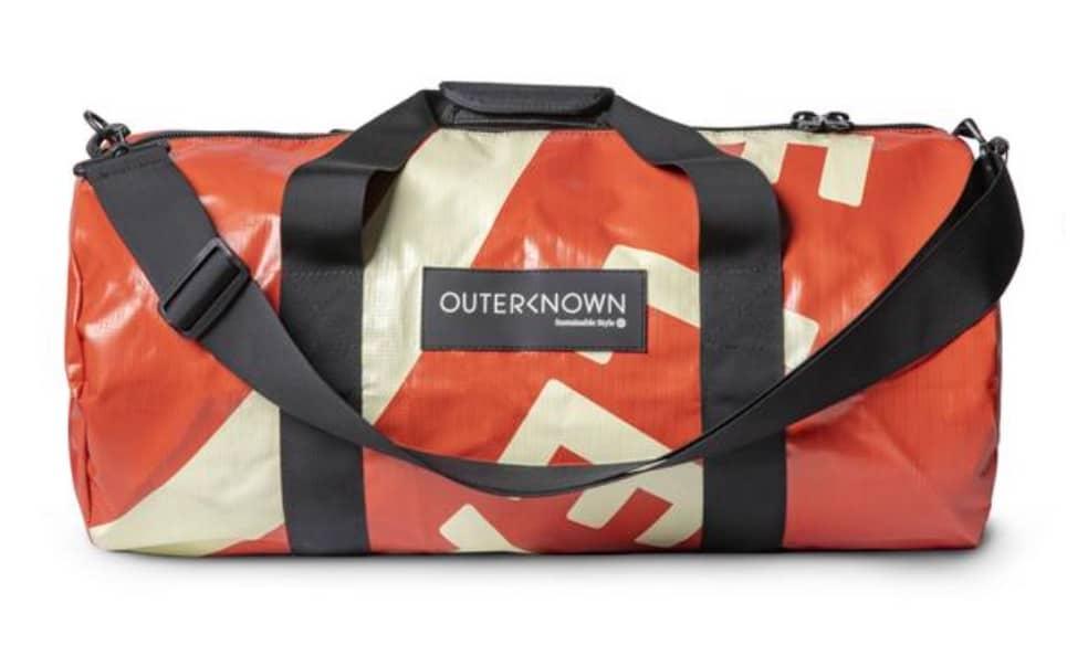 Banner Weekender Duffle: Outerknown