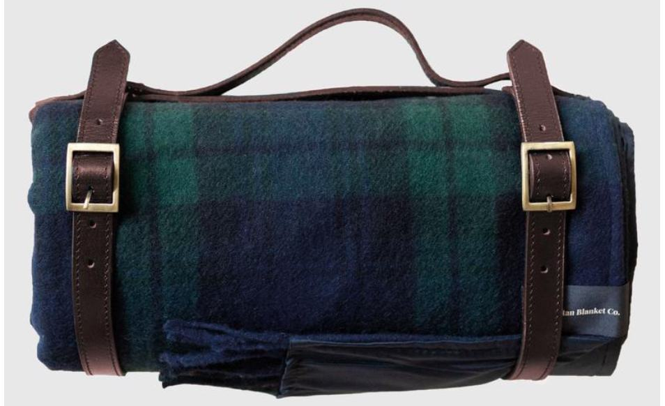 Recycled Wool Waterproof Picnic Blanket: United By Blue