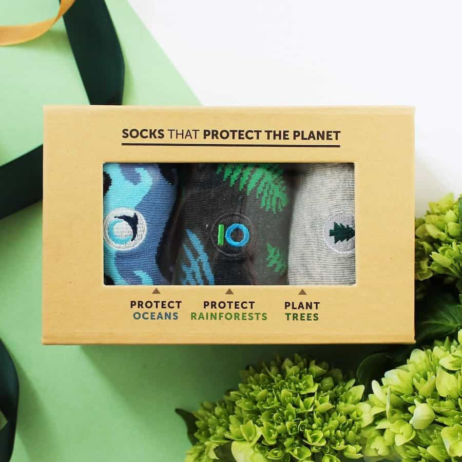 Socks that Protect the Planet Conscious Step