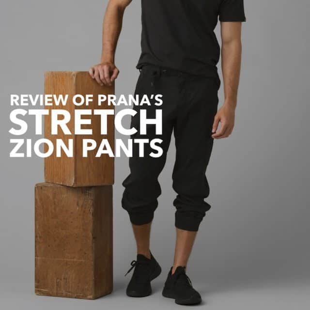 Review of Prana Stretch Zion Pants