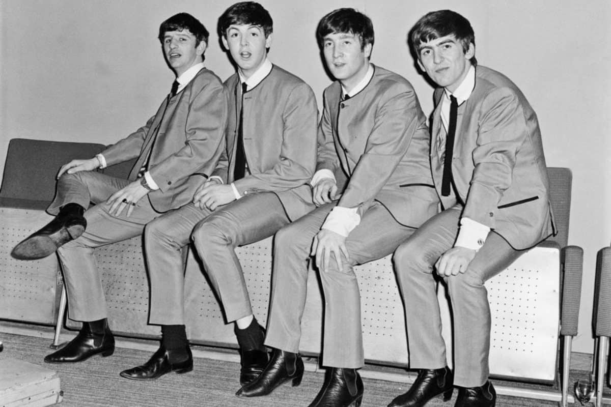 The Beatles wearing Chelsea Boots