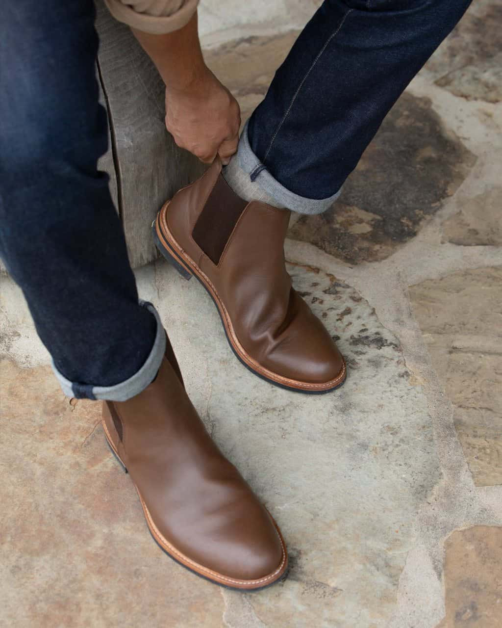 The Javier Chelsea Boots by Nisolo