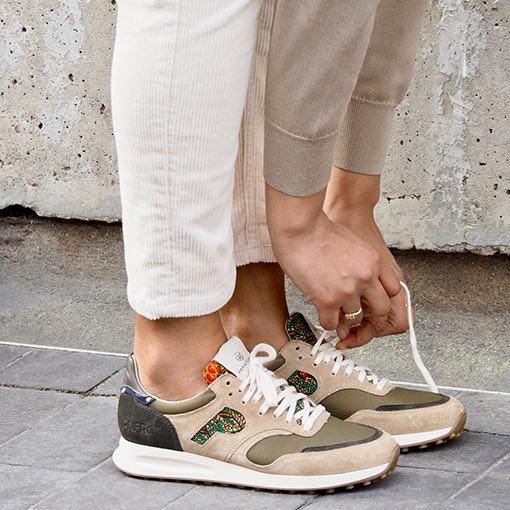 ARUSHA-SABLE Panafrica Sneaker