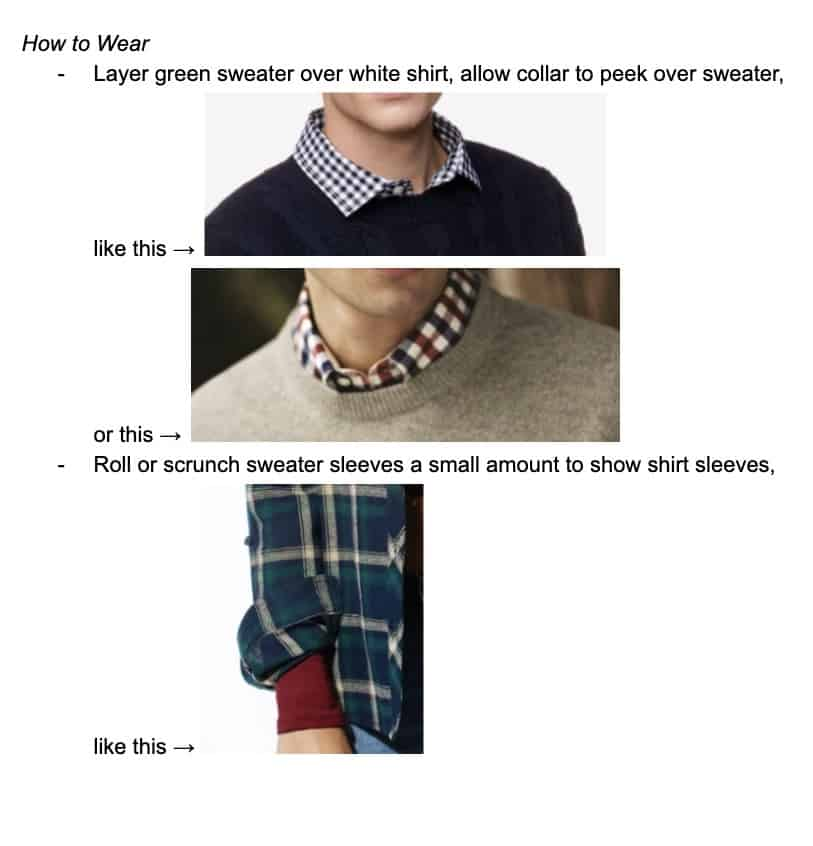 Your Personal Style Guide 2