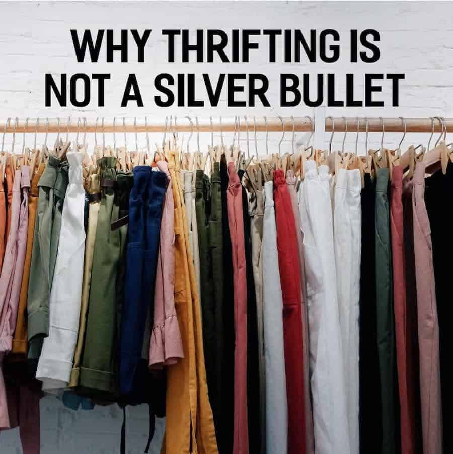 Why Thrifting is Not a Silver Bullet