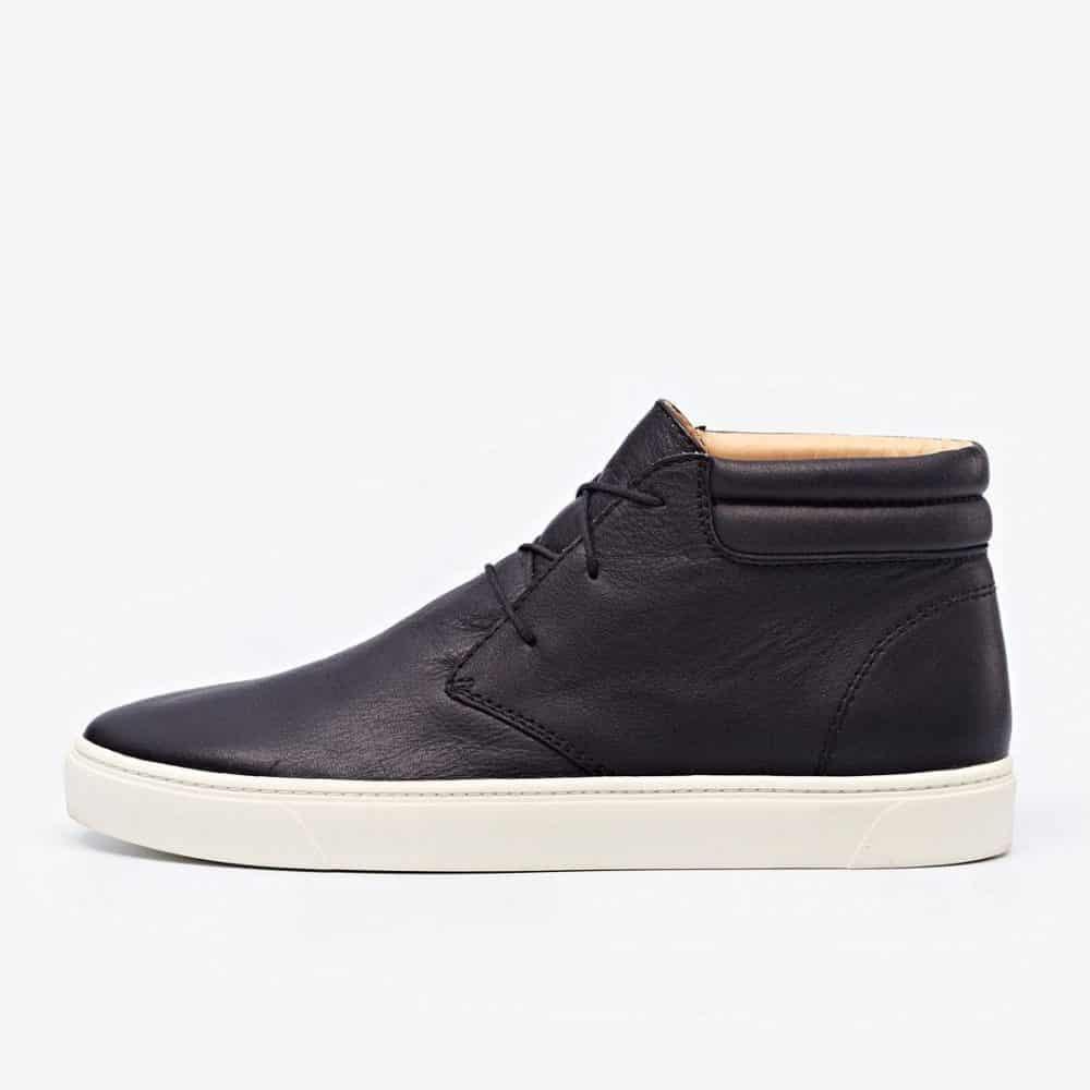 Cortez Mid Top Sneaker Black