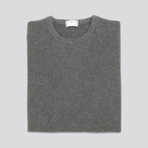 The Cashmere Sweater Dark Grey
