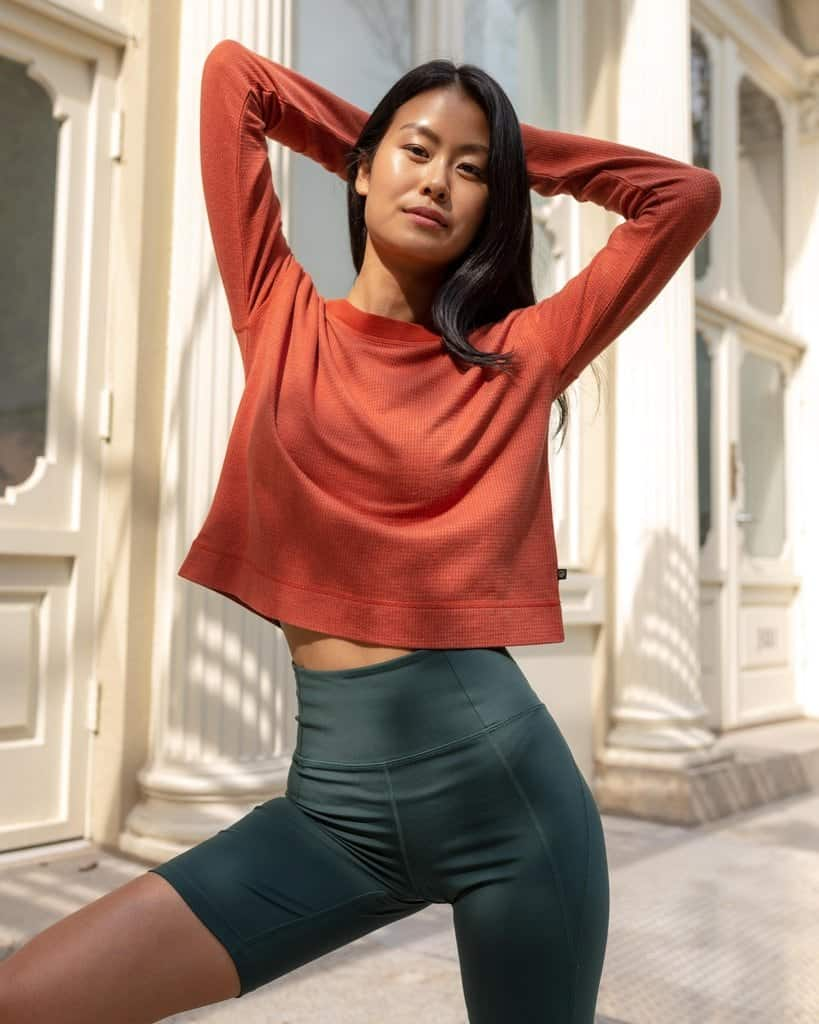 EcoKnit(TM) Cropped Thermal