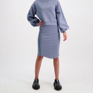 AMENDI AVA Skirt Slate Blue