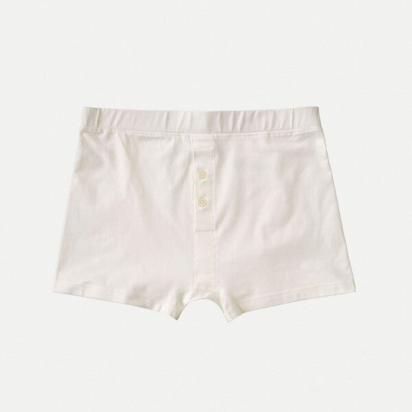 Nudie Jeans Boxer Trunks Offwhite Underwear Large