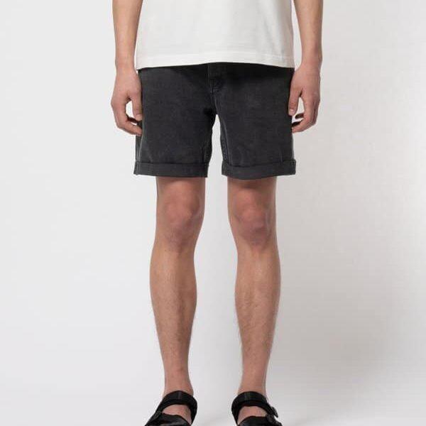 Nudie Jeans Josh Shorts Black Water Jeans W26
