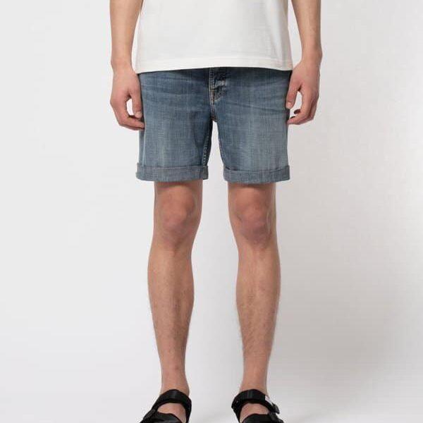 Nudie Jeans Josh Shorts Indigo Flow Jeans W38