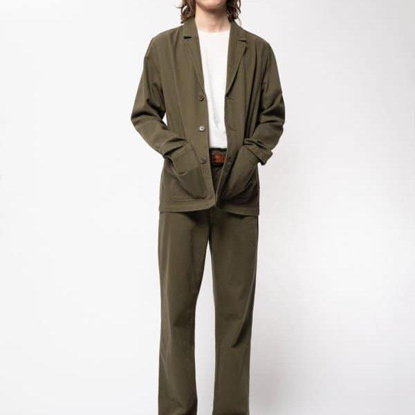 Nudie Jeans Roland Jacket Slouchy Twill Army Jackets Medium