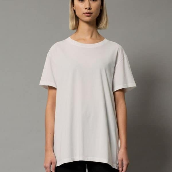 Nudie Jeans Tina Tee Offwhite T-shirts XX Large