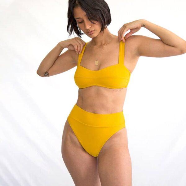 Lou Bandeau Bikini Top