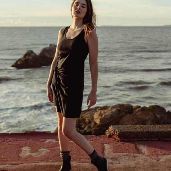 Natural Wrap Dress