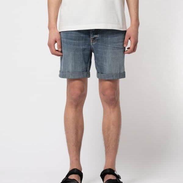 Nudie Jeans Josh Shorts Indigo Flow Jeans W34