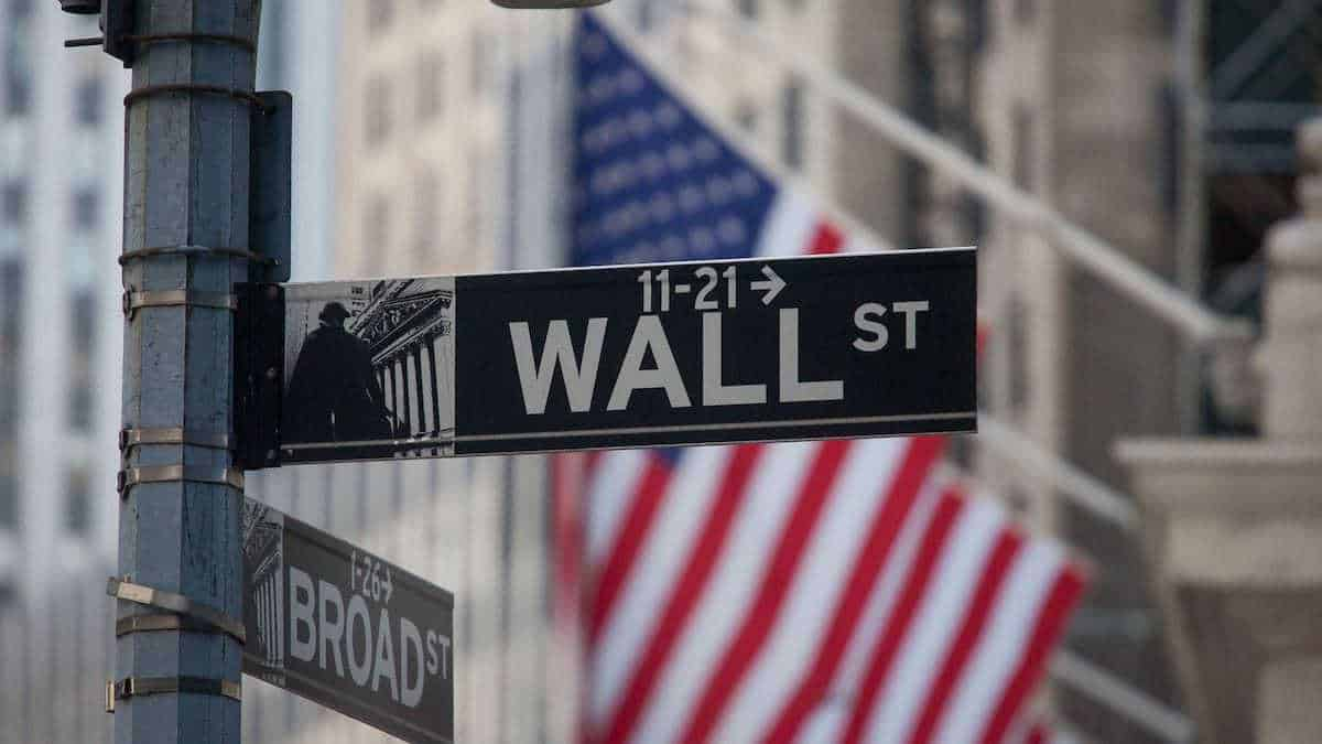 Wall Street in NYC