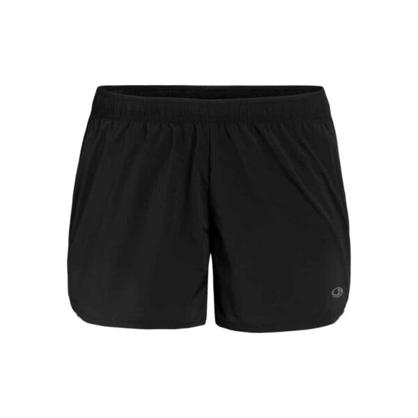 Icebreaker Women's Cool Lite™ Merino Impulse Running Shorts | Black | Merino Wool/Nylon/Tencel