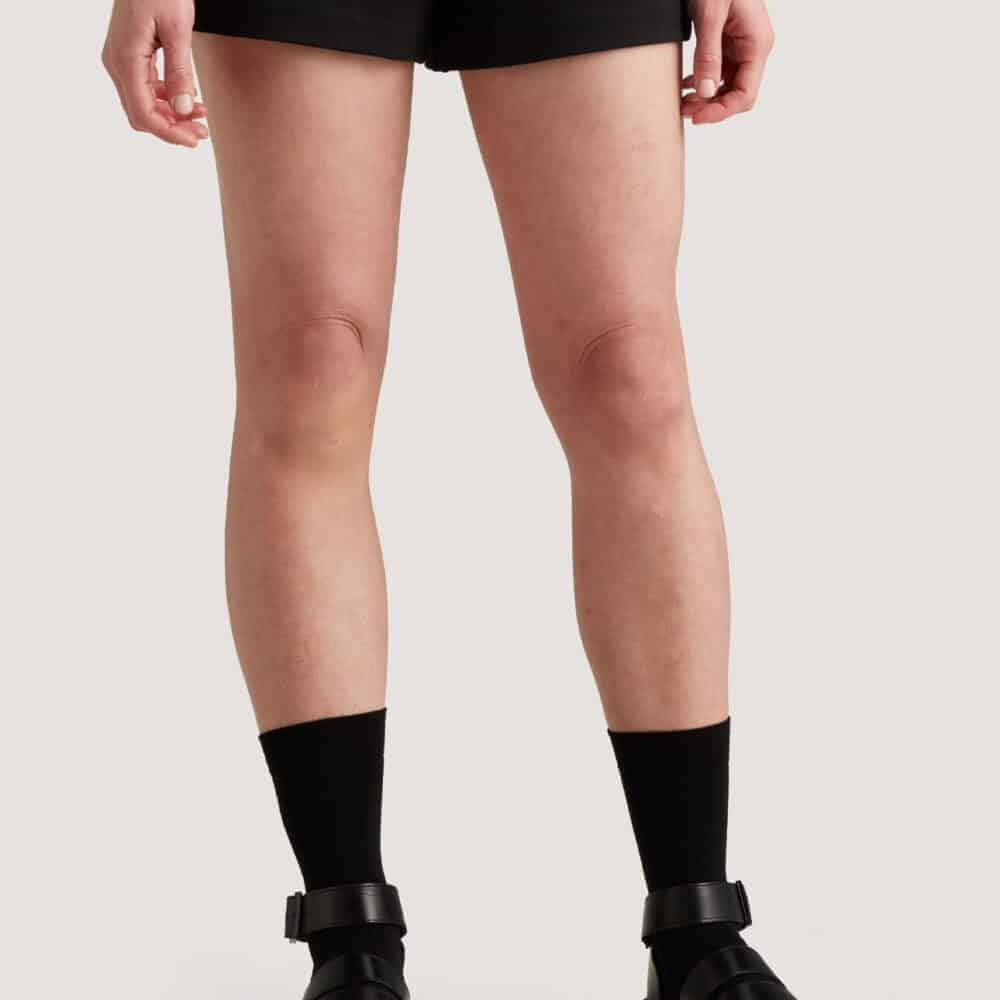 Women's Icebreaker City Label Merino Lightweight Shorts | Black | 100% Merino Wool