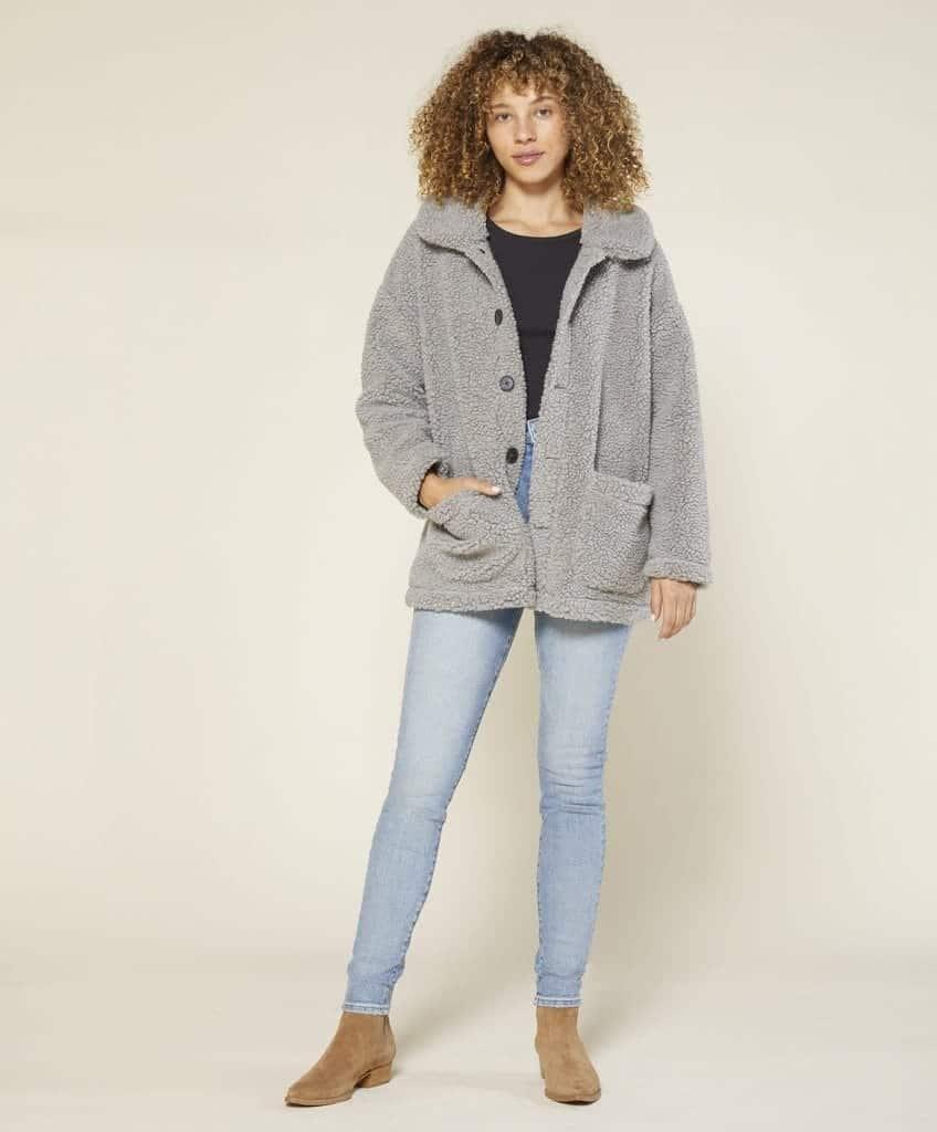 Woodland Sherpa Coat - Final Sale