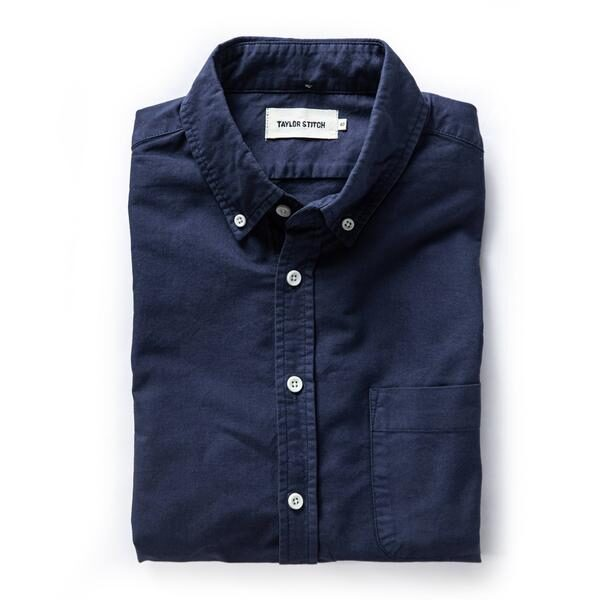 The Jack in Navy Oxford