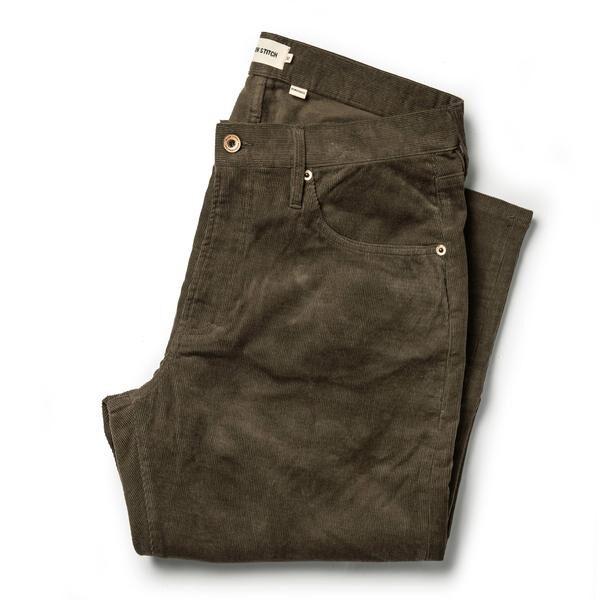 The Slim All Day Pant in Espresso Cord