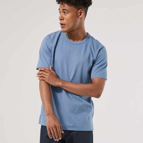 Men's Slate Blue Garment Dyed Crew Tee M