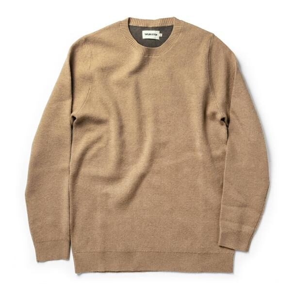 The Double Knit Sweater in British Khaki